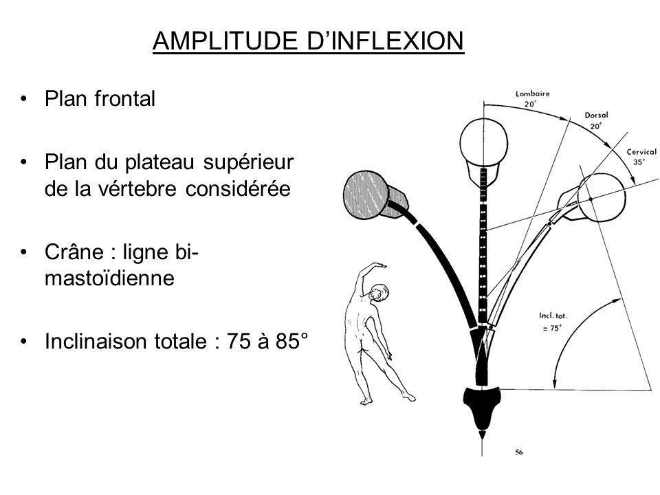 AMPLITUDE D'INFLEXION