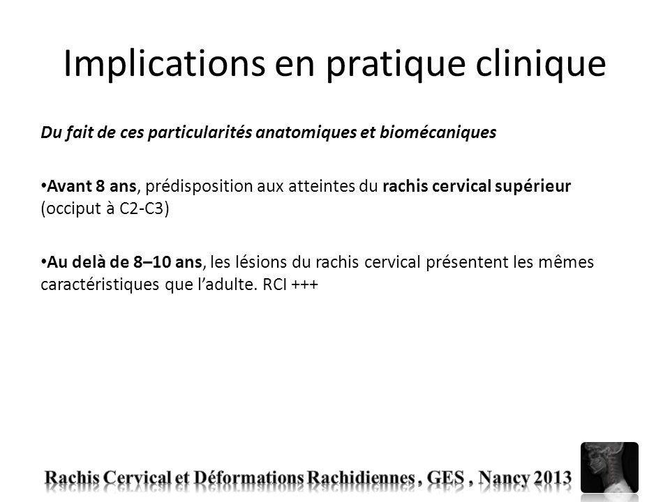 Implications en pratique clinique