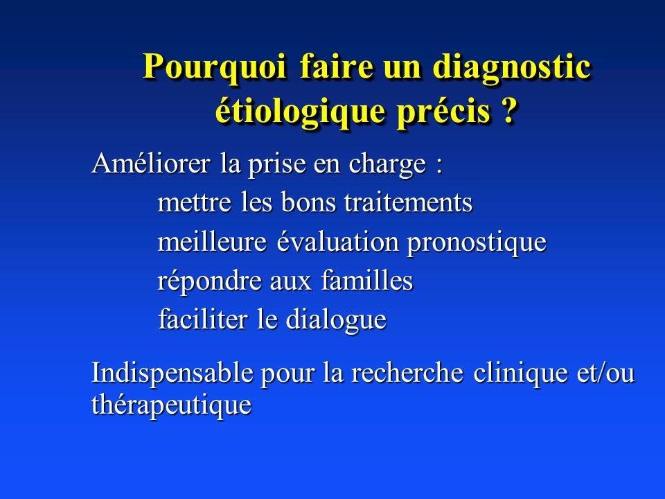 Pourquoi faire un diagnostic étiologique précis