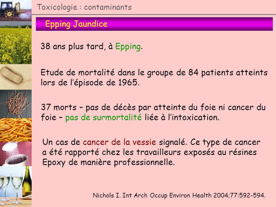 Etude de mortalité dans le groupe de 84 patients atteints