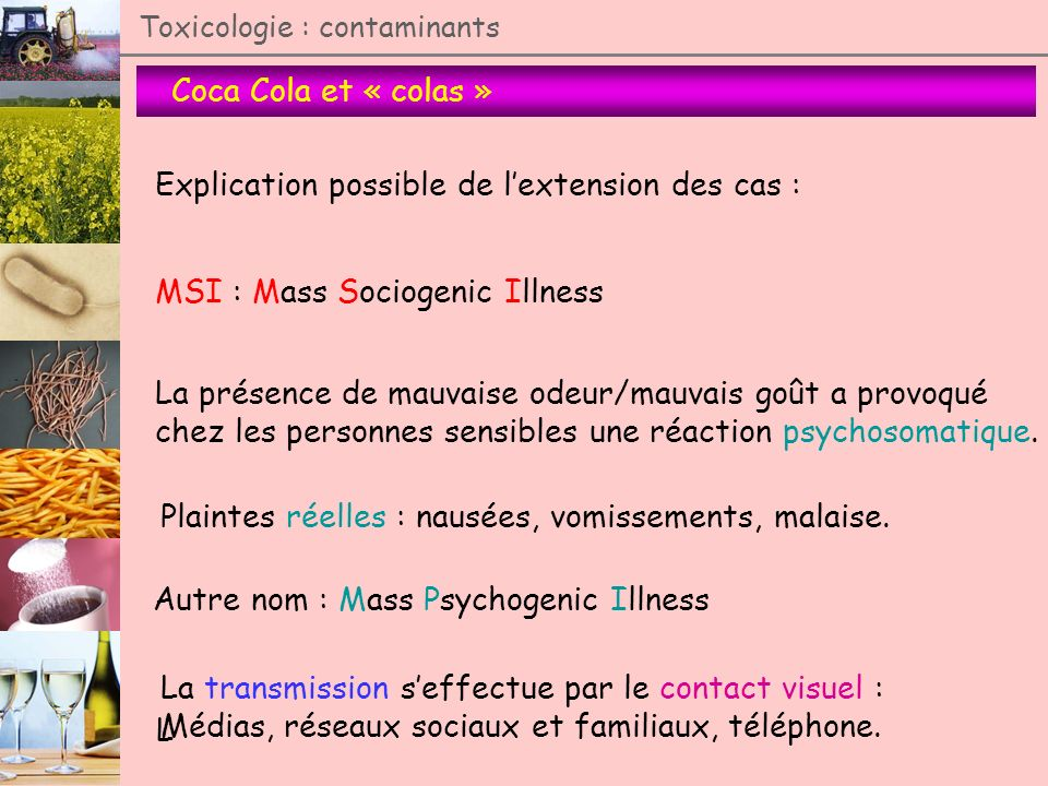 Explication possible de l'extension des cas :