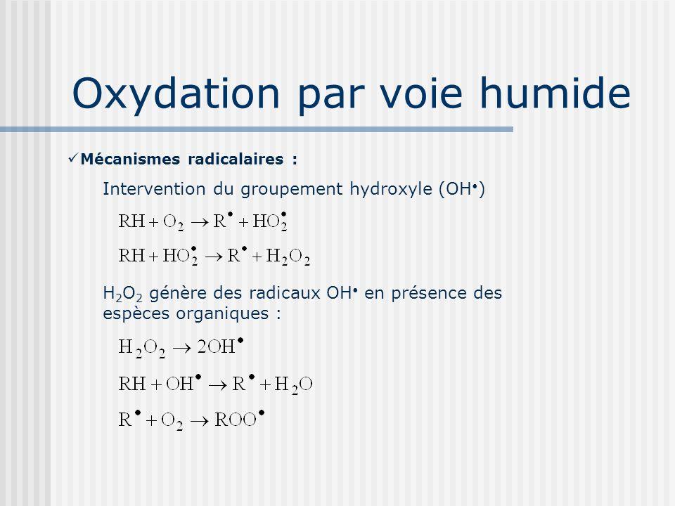 Oxydation par voie humide