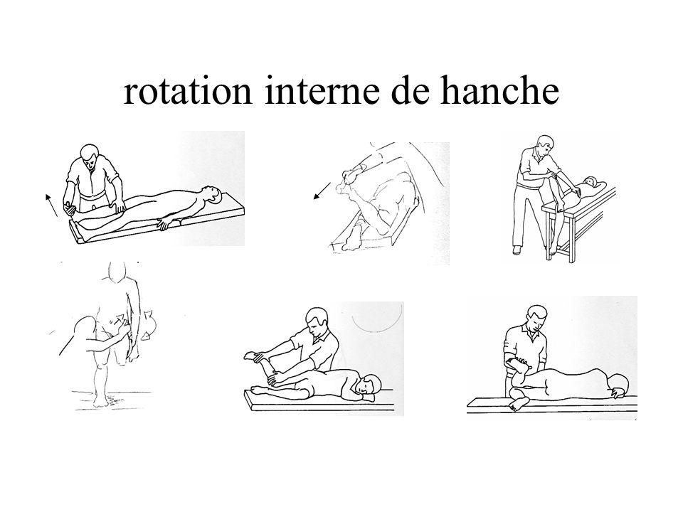 rotation interne de hanche
