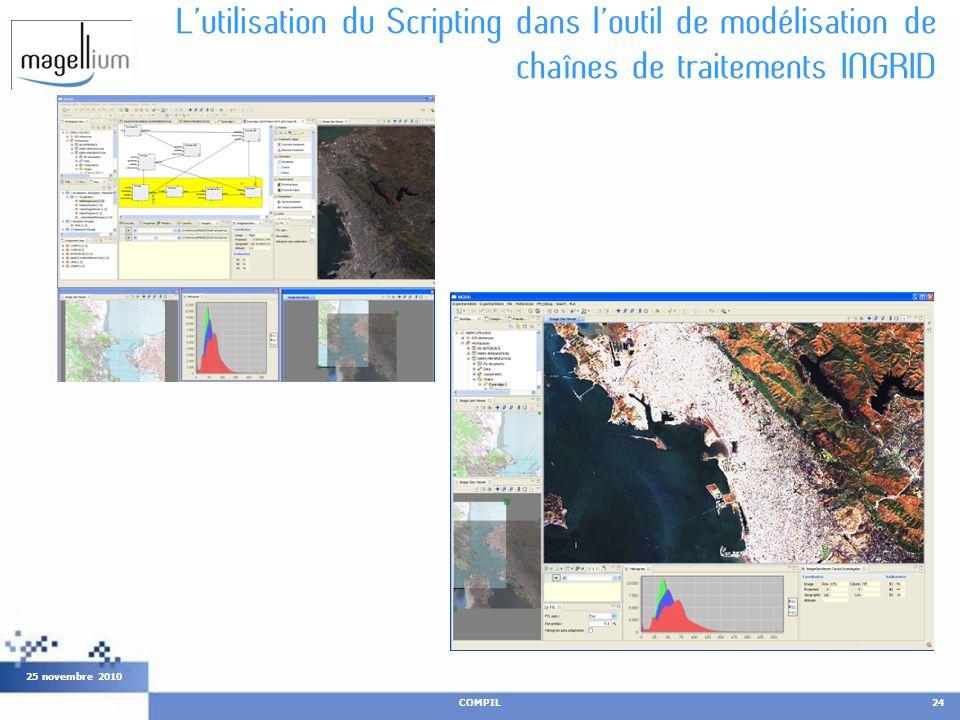 L'utilisation du Scripting dans l'outil de modélisation de chaînes de traitements INGRID