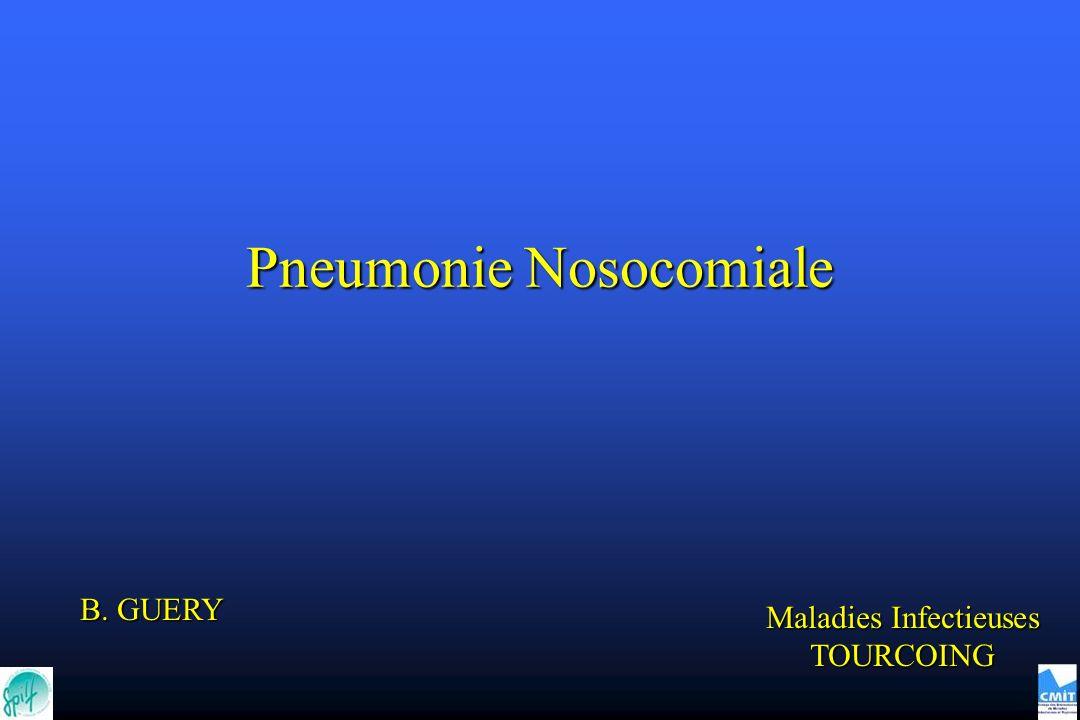 Pneumonie Nosocomiale