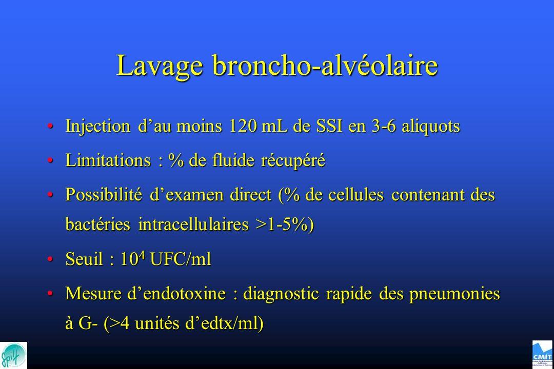 Lavage broncho-alvéolaire