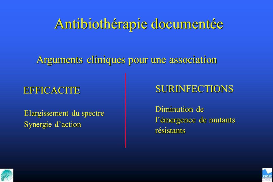 Antibiothérapie documentée