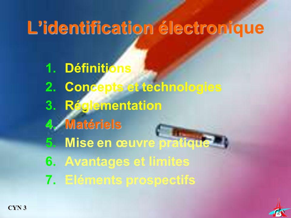 L'identification électronique