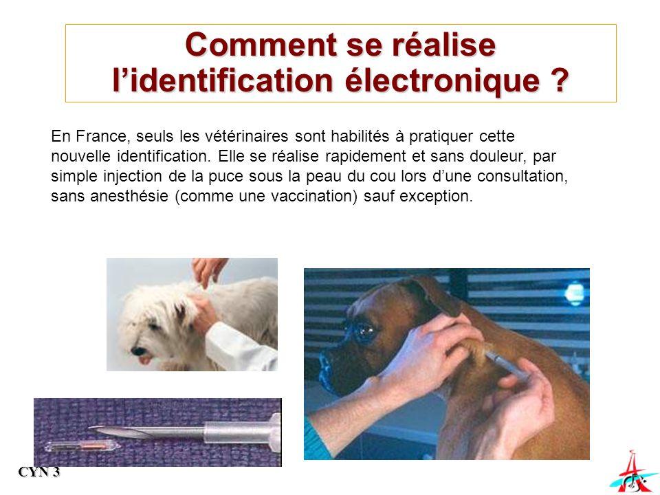 Comment se réalise l'identification électronique