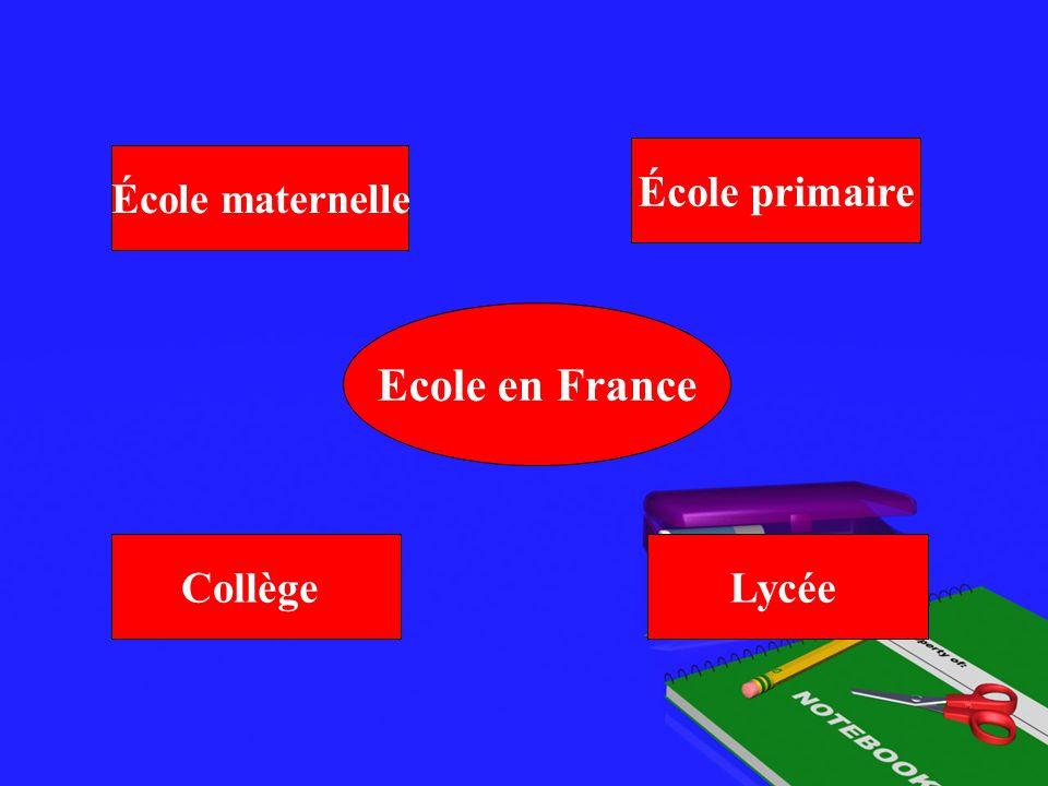 École primaire École maternelle Ecole en France Collège Lycée