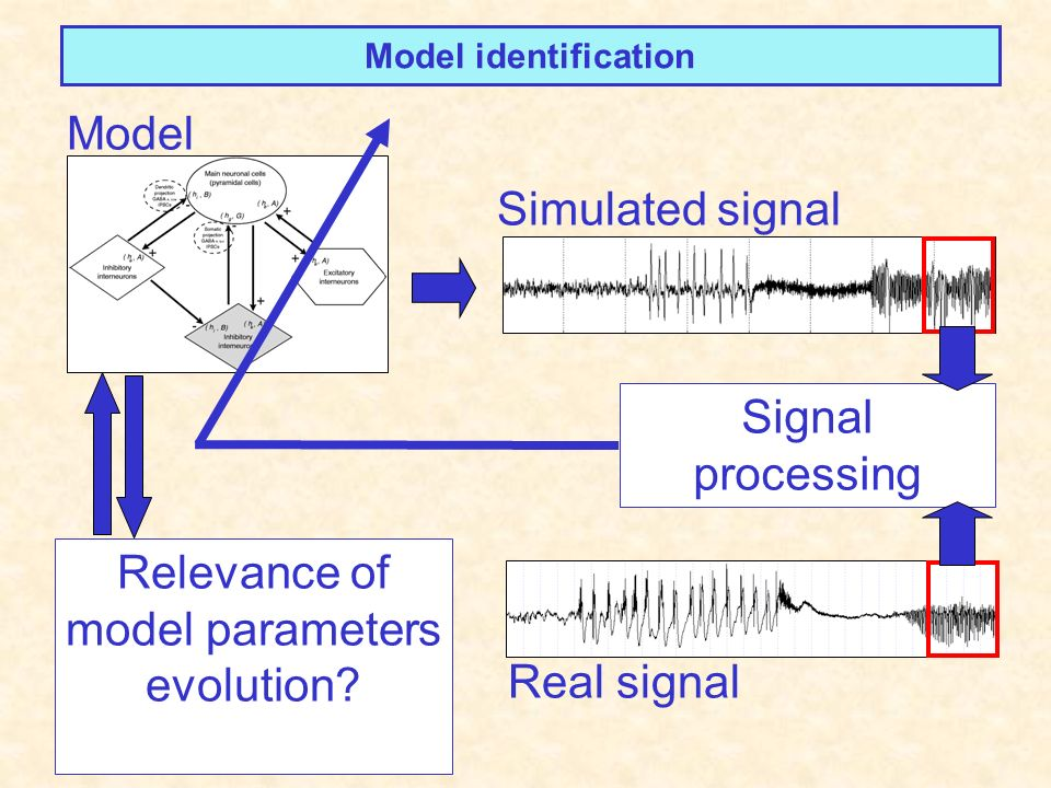 Relevance of model parameters evolution