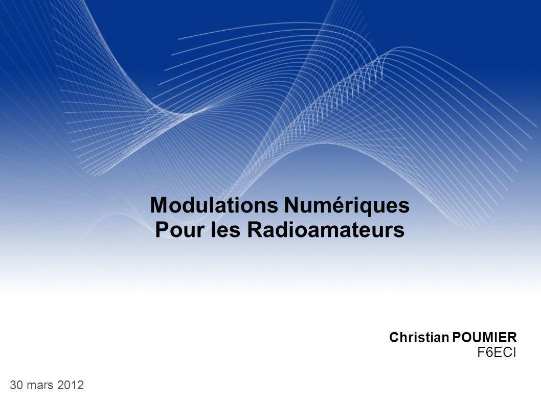 Modulations Numériques Pour les Radioamateurs