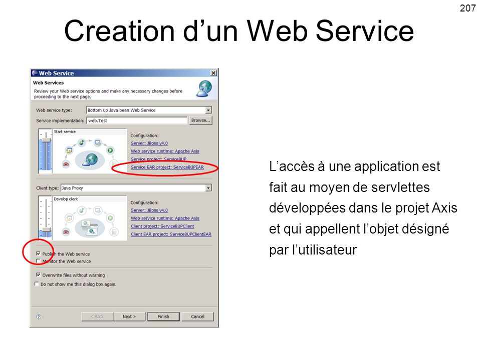 Creation d'un Web Service