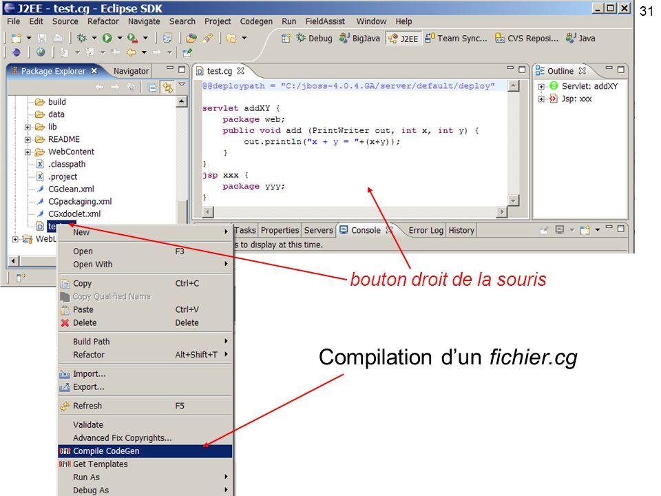 Compilation d'un fichier.cg