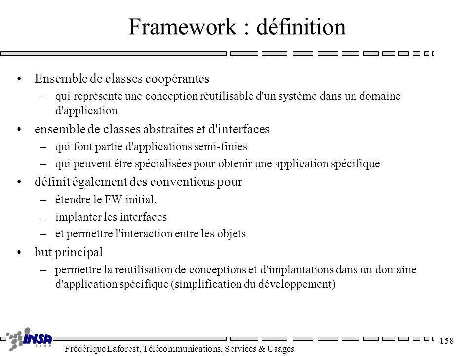 Framework : définition