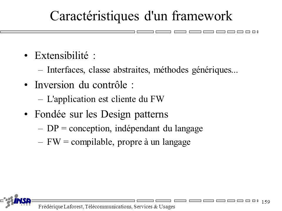 Caractéristiques d un framework