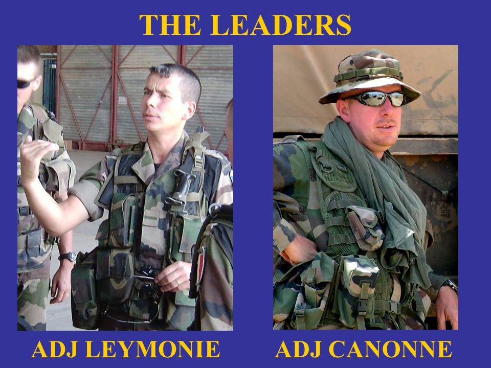 THE LEADERS ADJ LEYMONIE ADJ CANONNE