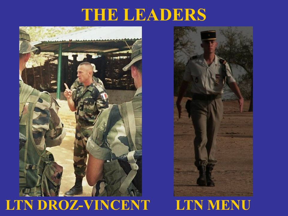 THE LEADERS LTN DROZ-VINCENT LTN MENU
