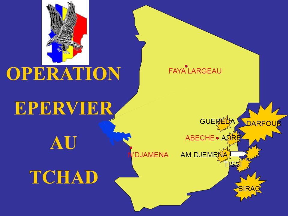 OPERATION EPERVIER AU TCHAD