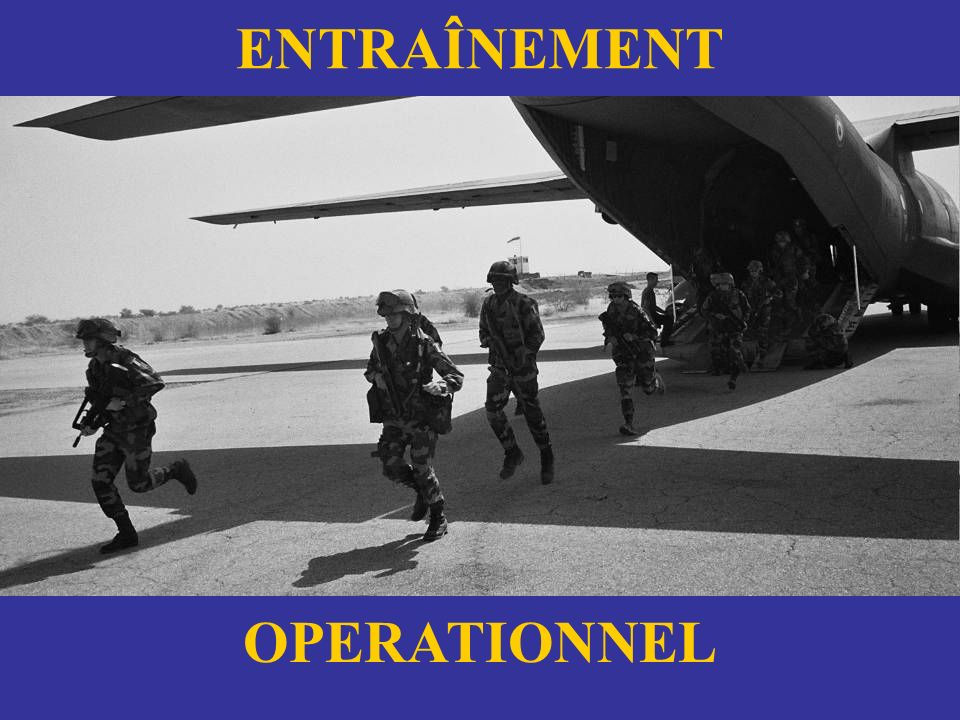 ENTRAÎNEMENT OPERATIONNEL