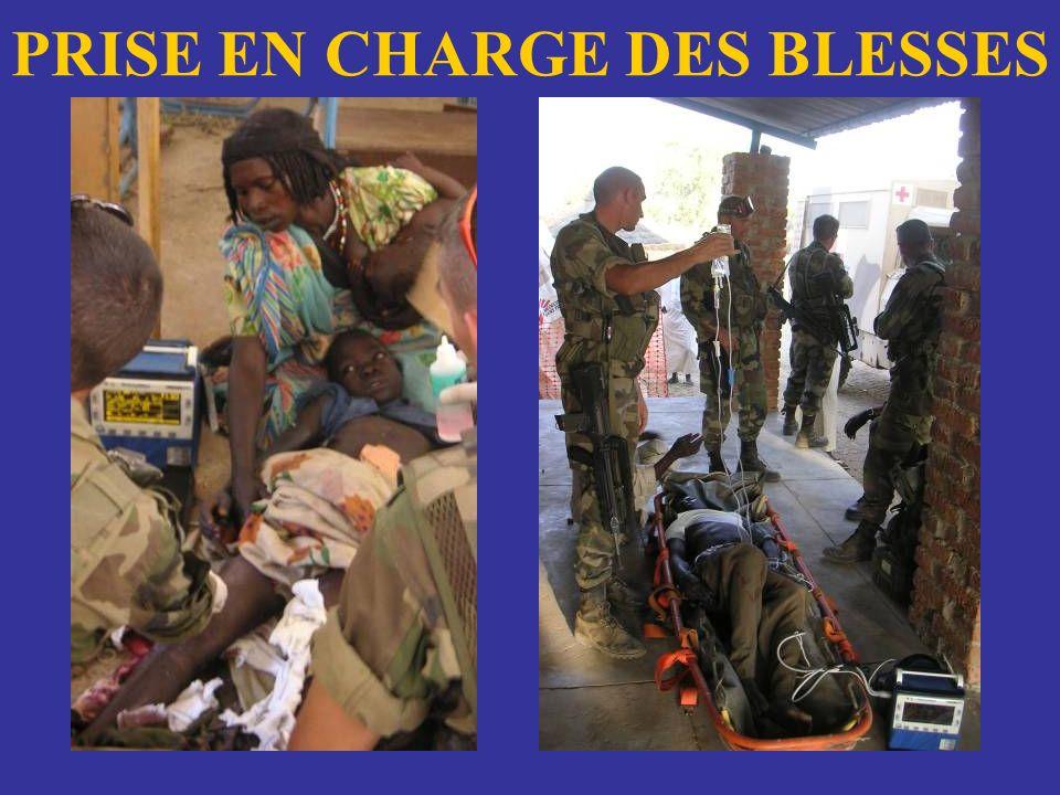 PRISE EN CHARGE DES BLESSES