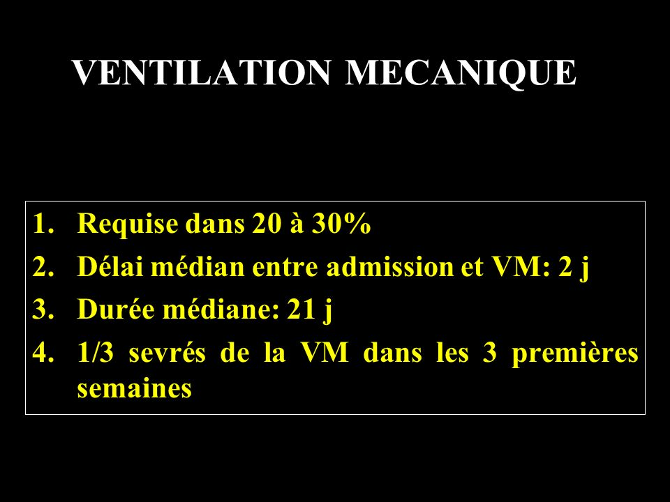 VENTILATION MECANIQUE