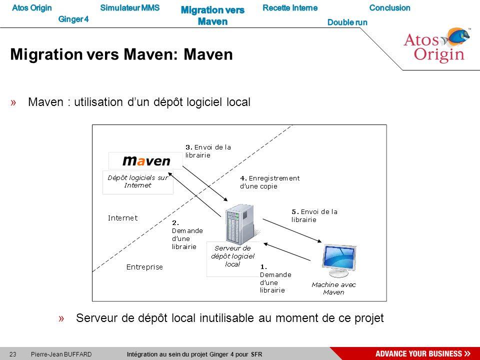 Migration vers Maven: Maven