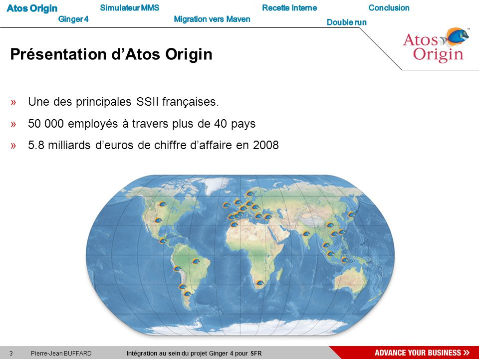 Présentation d'Atos Origin