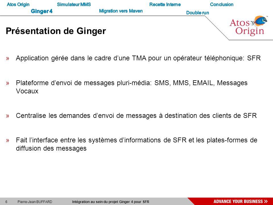 Présentation de Ginger