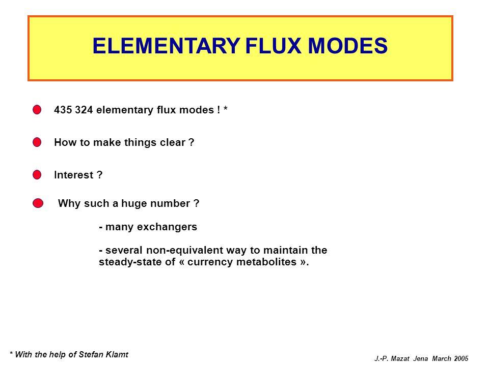 ELEMENTARY FLUX MODES 435 324 elementary flux modes ! *