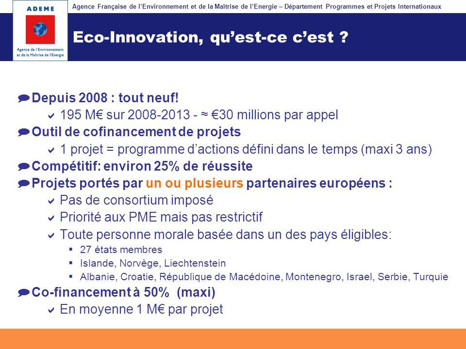 Eco-Innovation, qu'est-ce c'est