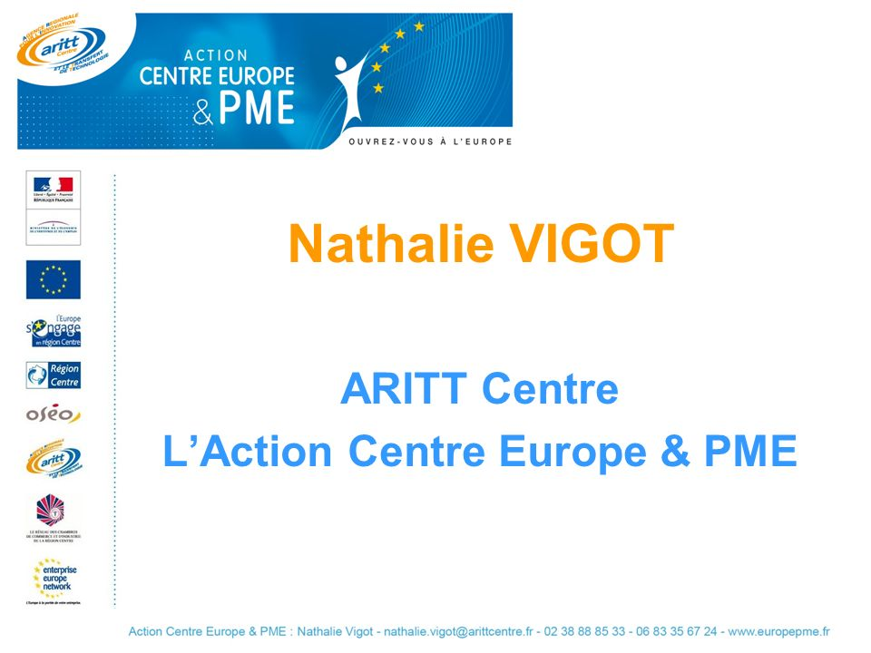 L'Action Centre Europe & PME