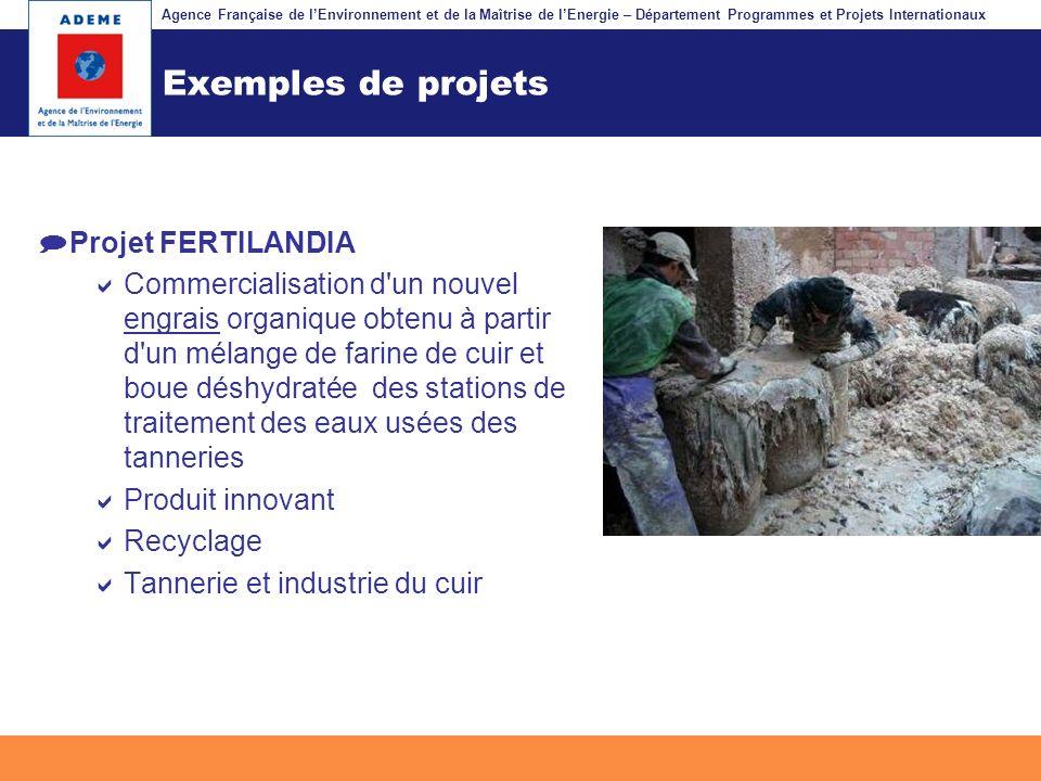 Exemples de projets Projet FERTILANDIA