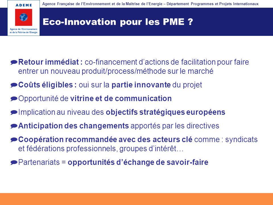 Eco-Innovation pour les PME