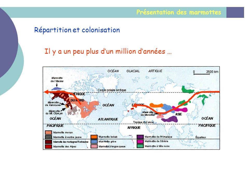 Répartition et colonisation