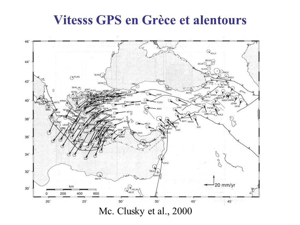 Vitesss GPS en Grèce et alentours