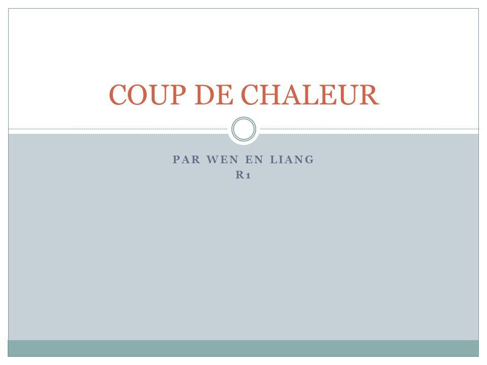 COUP DE CHALEUR PAR WEN EN LIANG R1
