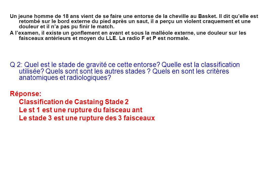 Classification de Castaing Stade 2