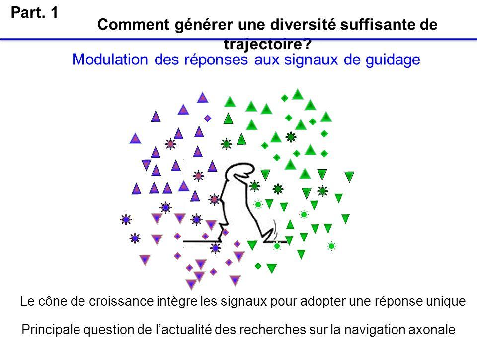 Comment générer une diversité suffisante de trajectoire