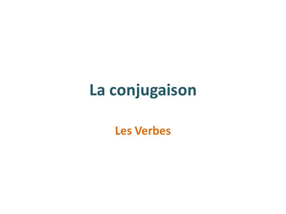 La conjugaison Les Verbes