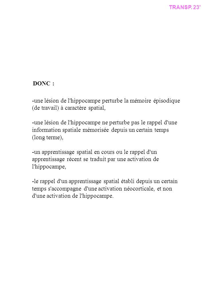 TRANSP. 23 DONC :