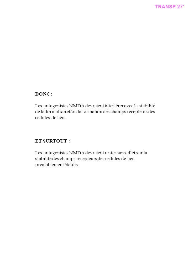 TRANSP. 27 DONC :