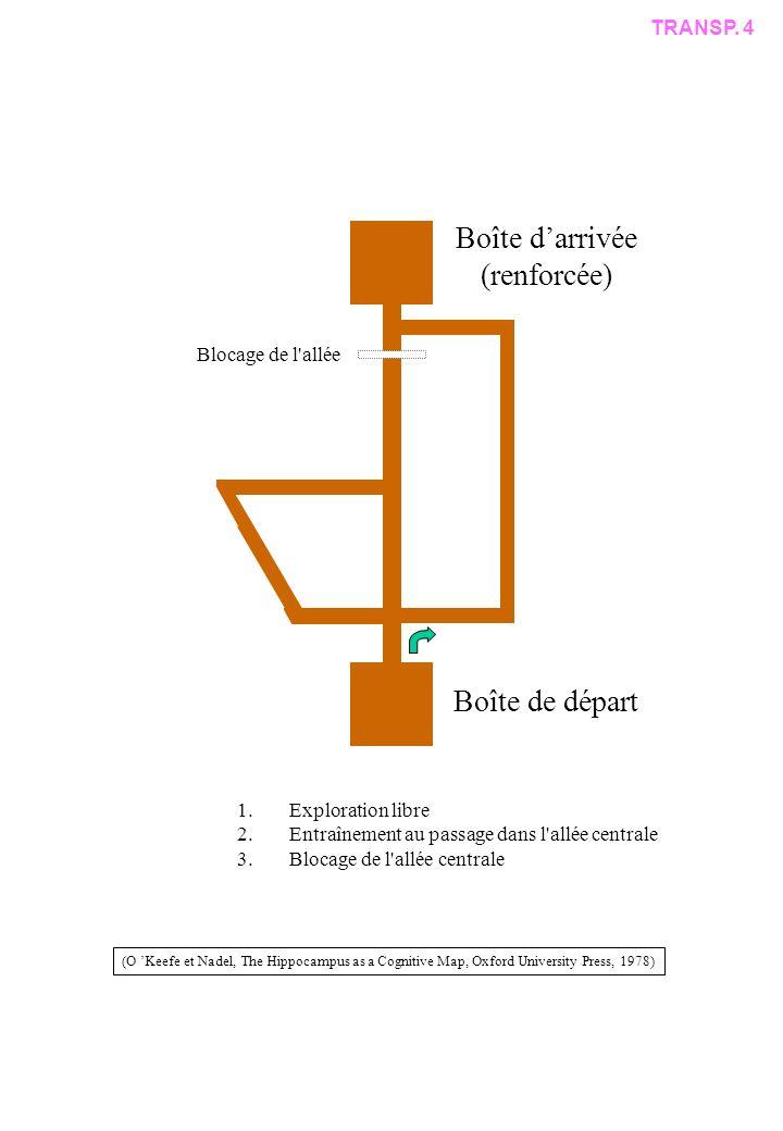 Boîte d'arrivée (renforcée) Boîte de départ TRANSP. 4