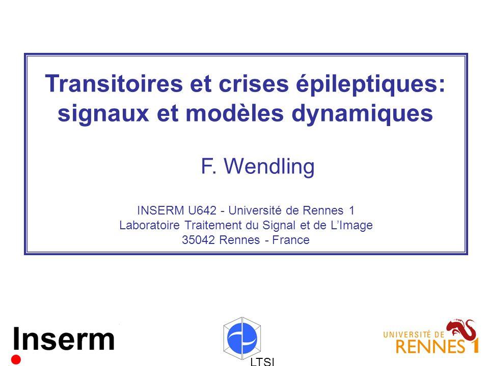 Transitoires et crises épileptiques: signaux et modèles dynamiques