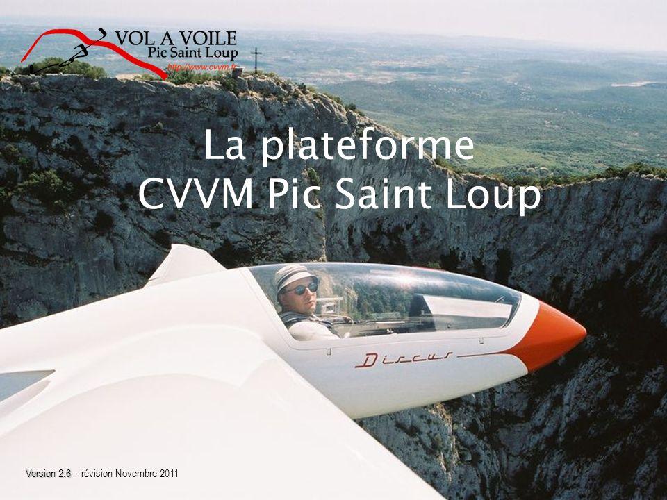 La plateforme CVVM Pic Saint Loup