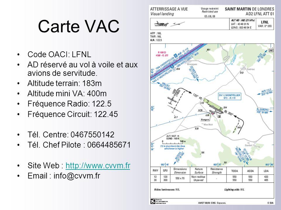 Carte VAC Code OACI: LFNL