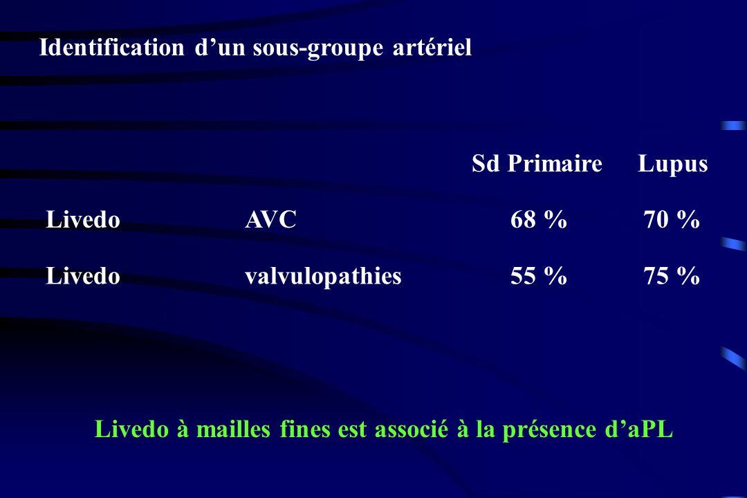 Identification d'un sous-groupe artériel