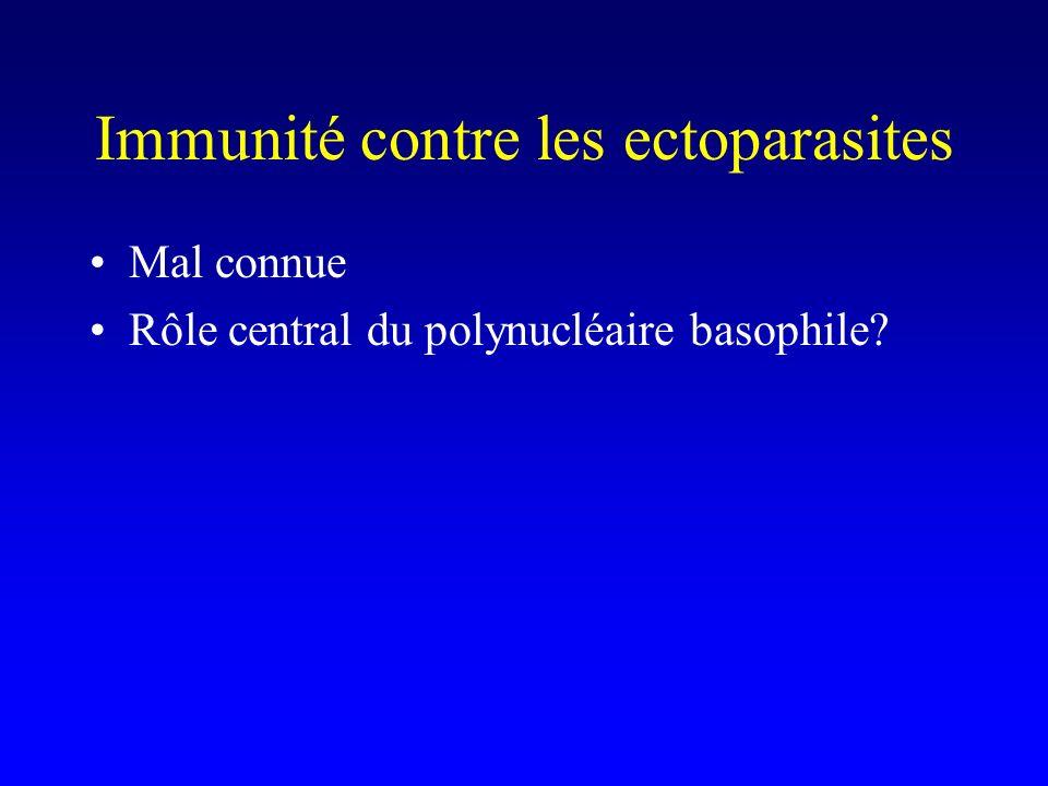 Immunité contre les ectoparasites