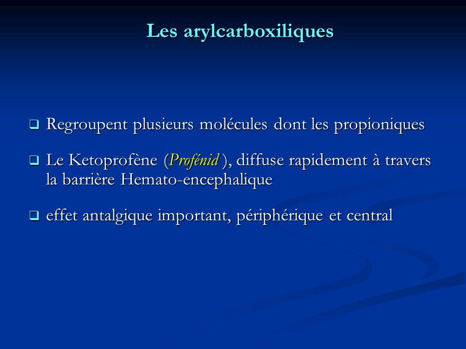 Les arylcarboxiliques