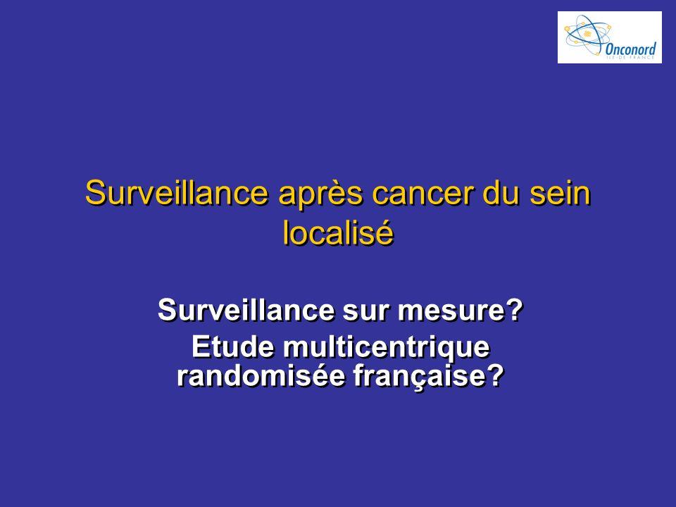 Surveillance après cancer du sein localisé
